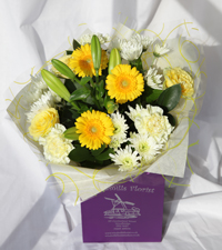 'Yellow Sunshine' Hand Tied