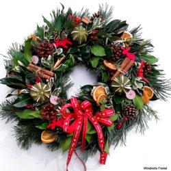 Welcome Christmas Wreath