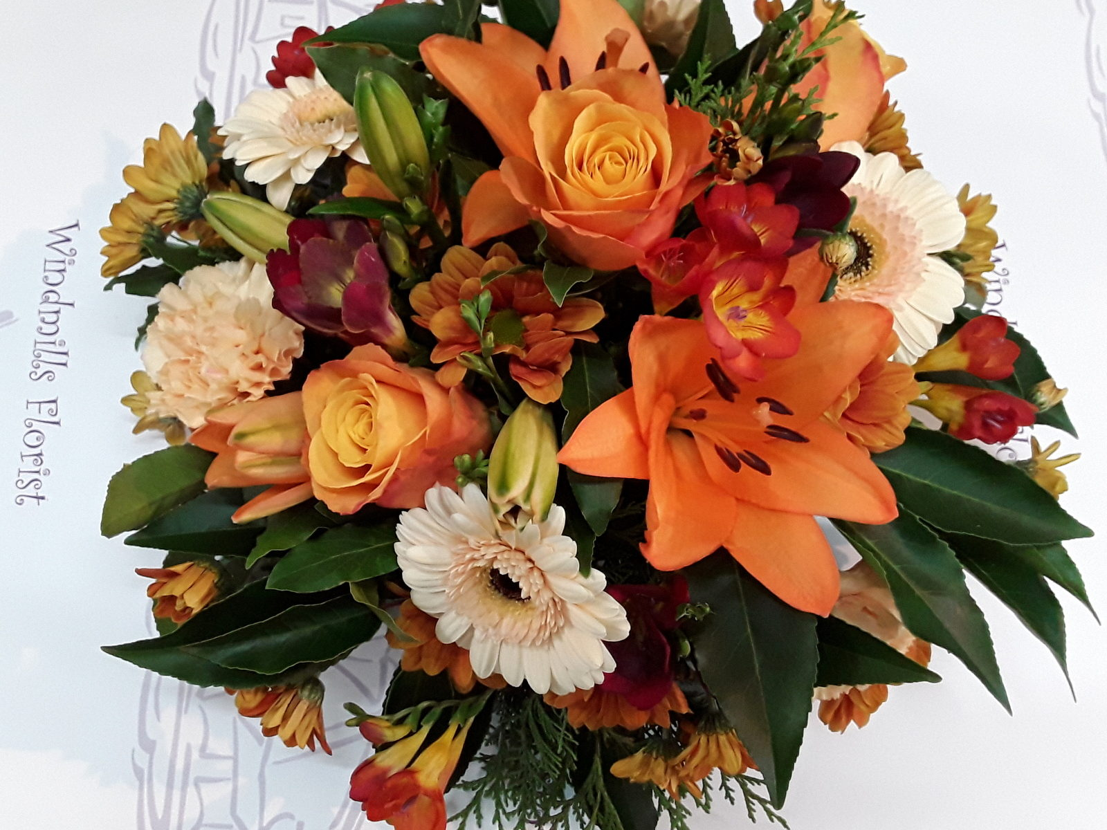 Autumn Posy Arrangement