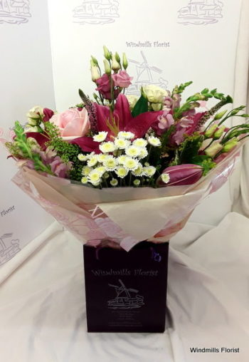 Pink Hand Tied
