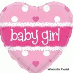 Baby Girl Balloon BQ