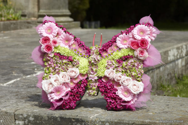 Funeral Tributes Butterfly
