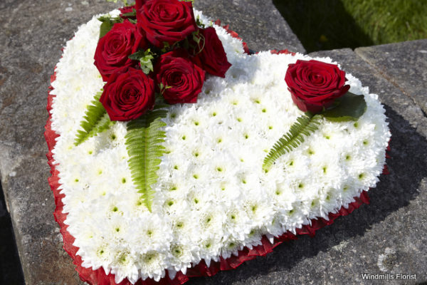 Funeral Tribute Based Heart