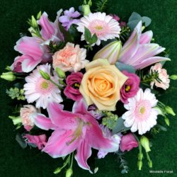 Summer Funeral Posy