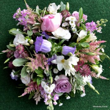 Funeral Posy, Pink, lilacs